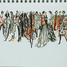 Jeanette Getrost fashion illustration