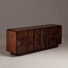 Talisman An American Walnut Cabinet designed by Lane 1950/60s -