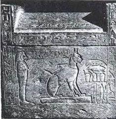 KEMET: TA-miAt , el gato de Tutmosis III