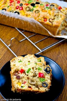 Przepis na pyszny keks wytrawny z warzywami - wersja włoska Bread Recipes, Cookie Recipes, Vegetarian Recipes, Healthy Recipes, Guacamole Recipe, Polish Recipes, Food Cravings, Food Inspiration, Healthy Snacks