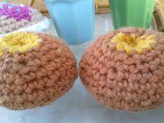 Crocheted buns