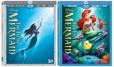 The Little Mermaid Diamond Edition is part of your world! Released on Blu-Ray Combo pack October 1. Tons of bonus features!