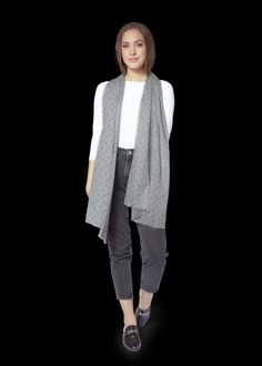 Cotton Scarf, Naturally Beautiful, Normcore, Grey, Sweaters, Blue, Shopping, Beauty, Collection