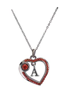 Love Collection Necklace- Red- A item# 31425
