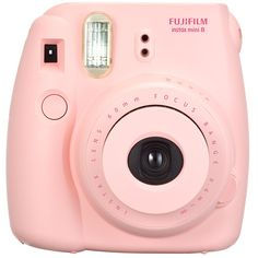 FUJIFILM Instax Mini 8 Camera Pink Target Australia ($71) ❤ liked on Polyvore featuring fillers, camera, accessories, electronics, tech, doodle and scribble