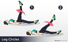 Fitness ideas for moms. When it comes to easy fitness workout routines, you do not always have to attend the gym to obtain the full effects of working out. You are able to tone, shape, and revitalize your entire body in a few simple actions. Bed Workout, Tummy Workout, Belly Fat Workout, Workout Gear, Easy Workouts, At Home Workouts, Leg Circles, Fitness Workout For Women, Diy Home