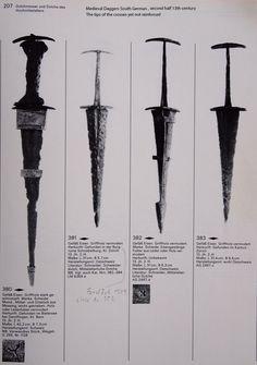 South German daggers