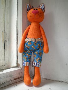 gatto in pantaloni
