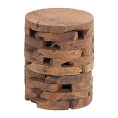 Woodland Imports 38428 Wooden Stool