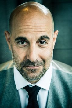 Shaved Head With Beard - 90 Beard Styles For Bald Men Shaved Head With Beard, Bald Men Style, Stanley Tucci, Hollywood, Beard Styles, New York, Style Icons, Men's Style, Role Models