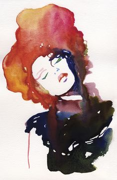 Cate Parr - fashion in ink