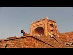"Buland Darwaza -""Gate of Magnificence"" - Fatehpur, Agra, India India Tour, Tourist Places, Agra, Travel Mug, Louvre, Popular, World, Popular Pins, The World"