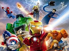 Ben Alexander Lego Poster Marvel Super Heroes Iron Man Wolverine Art Print Wall Poster 24X36 Inch Unframed >>> Want to know more, click on the image.Note:It is affiliate link to Amazon. #us