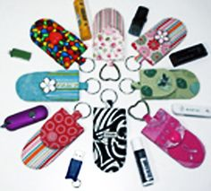 Key Fob Pockets Pattern to Make DIY Sewing by UndercoverQuilts