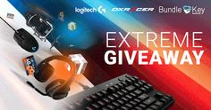 Extreme Giveaway G2A with Logitech Dxracer and Bundlekey... sweepstakes IFTTT reddit giveaways freebies contests