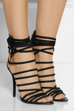 Giuseppe Zanotti | Mortisia leather sandals | NET-A-PORTER.COM