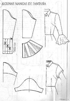 Dress Sewing Patterns, Clothing Patterns, Skirt Patterns, Coat Patterns, Blouse Patterns, Sewing Clothes, Diy Clothes, Bags Sewing, Barbie Clothes