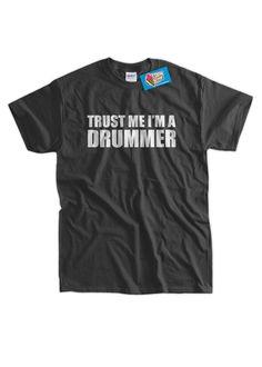 5f12362e Funny Drummer T-Shirt - I'm A Drummer Tee Shirt T Shirt Music Rock Geek  Mens Ladies Womens Youth Kid
