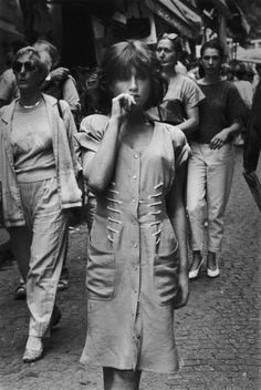 Isabelle Huppert, France, 1987. © Robert Doisneau