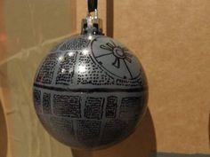 Star Wars Ornaments - Death Star Bauble!