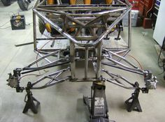 LONG TRAVEL DUNE BUGGY BUILD SAND RAIL chassis with MOTORCYCLE ENGINE