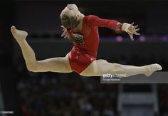 Madison Kocian competes on the floor exercise during day 1 of the 2016 U.S. Olympic Women's Gymnastics Team Trials at SAP Center on July 8, 2016 in San Jose, California.