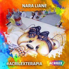 #Acrilexterapia por Nara Liane