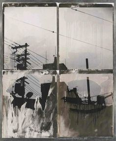 Japanese Sky I (from the Bleacher Series), 1988 by Robert Rauschenberg | issyparis