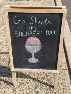 Party Like It's Sherbert Day