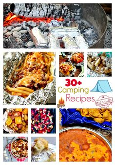 Campfire Recipes - Make ahead, main meals,k breakfasts, side dishes, and desserts in the backyard, on the grill or camping. Delicious recipes to try on your camping trip - www.kidfriendlythingstodo.com