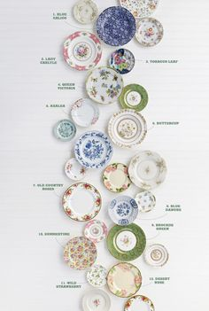 ​From feminine chintz to fanciful English roses, here's the dish on some of the most popular vintage china patterns to ever grace American tables.​