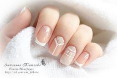bright nails - The perfect jacket - manicure for those who appreciate - Simple Nail Designs, Beautiful Nail Designs, Nail Art Designs, Pink Glitter Nails, White Nails, French Nails, Love Nails, Fun Nails, Nagel Hacks
