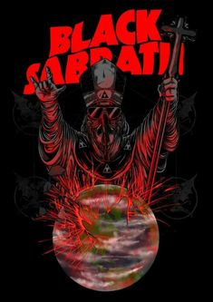 World destroyed by apocalypse, theres no religion can refuse it, There is no afterlife, so Black Sabbath . Heavy Metal Rock, Heavy Metal Music, Heavy Metal Bands, Ozzy Osbourne, Tony Iommi, Black Sabbath Concert, Metal Band Logos, Rock Y Metal, Rock Band Posters