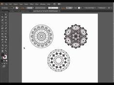 Как нарисовать круговой орнамент в Adobe Illustrator Audi S5, Adobe Illustrator Tutorials, Graphic Design, Drawings, Inspiration, Biblical Inspiration, Sketches, Drawing, Portrait