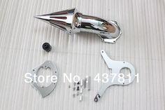 Eonstime Chrome Spike Air Cleaner Kits Intake Filter For Honda Shadow Aero 750