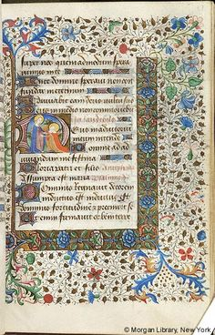 Book of Hours, M.287 fol. 51r - Images from Medieval and Renaissance Manuscripts - The Morgan Library & Museum