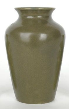 "Zark Pottery (1907-1910) - Vase. Matte Glazed Pottery. St. Louis, Missouri. Circa 1907-1910. 6-1/2"". Glazed Pottery, Pottery Art, St Louis, Missouri, Home Decor, Decoration Home, Room Decor, Interior Decorating"