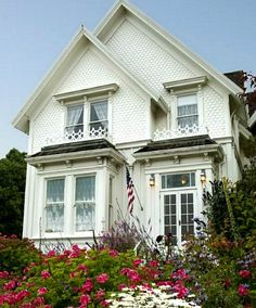 "Beautiful Blair House Inn Mendocino CA (used as Jessica Fletcher's house in ""Murder, She Wrote"" 