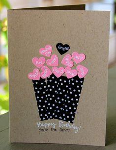 37 Best Happy Birthday Card Diy Images Handmade Cards Diy Cards