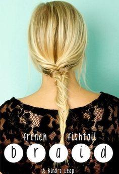 Idées Coupe cheveux Pour Femme  2017 / 2018   50 coiffures élégantes de tresse française