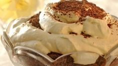Diet Recipes, Dessert Recipes, Soft Chocolate Chip Cookies, Almond Milk, Camembert Cheese, Mousse, Food And Drink, Ice Cream, Pudding