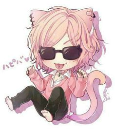 Facebook Anime Neko, Kawaii Anime, Manga Anime, Anime Art, Yuri, Handsome Anime Guys, Cute Anime Guys, Ayato, Cute Gay
