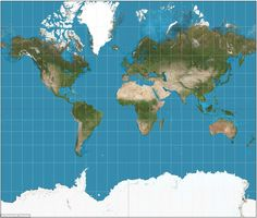 The more commonly used Mercator projection (pictured) exaggerates the size of the Earth around the poles and shrinks it around the equator. It's especially problematic given that the first world maps based on the Mercator projection were produced by European colonialists. Imagine drawing a world map on an orange, peeling the skin to leave a single piece and then flattening it. It would, of course, rip. But imagine you could stretch it. As you did so, the map drawn on its surface would…