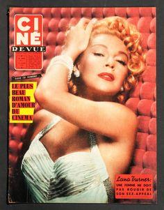 'CINE-REVUE' FRENCH MAGAZINE LANA TURNER COVER 14 FEBRUARY 1958 in Books, Comics & Magazines, Magazines, Film & TV | eBay