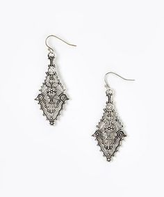 Another great find on #zulily! Silver Chandelier Drop Earrings by ZAD #zulilyfinds