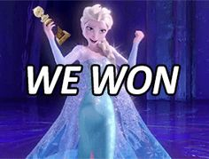 Frozen was named Best Animated Feature Film at the Golden Globes!