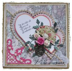 pipserier: Card with hearts