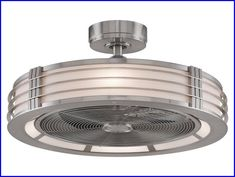 small enclosed ceiling fan
