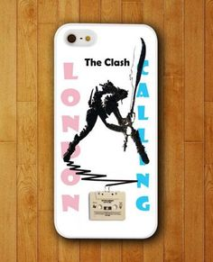 The Clash London Calling Design iPhone Skin Protector for iPhone 4 4S 5 5S 5C ✿