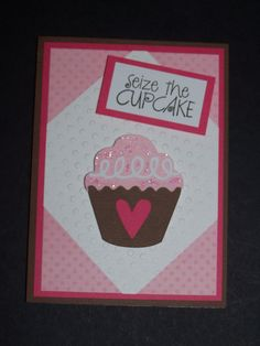 Birthday card - cupcake card - cut with Silhouette Cameo